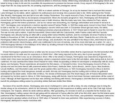 ernest hemingway essay huckleberry finn  ernest hemingway critical essays a farewell to arms