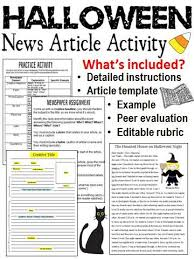 Newspaper Article Template For Pages Writing Articles For School Newspaper Ideas