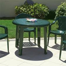 details about atlin designs 35 5 round resin patio dining table in green