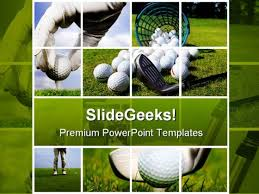 photo collage template powerpoint collage of golf sports powerpoint templates and powerpoint