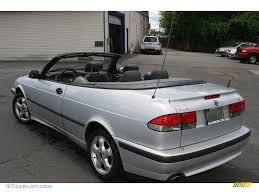 2001 Silver Metallic Saab 9-3 SE Convertible #13809129 Photo #7 ...