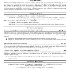 Resume Amusing Help Desk Resu Technical Support Computer