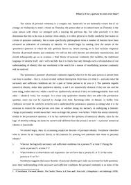 mother tongue essay thesis