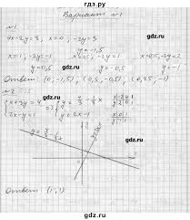 ГДЗ контрольная работа алгебра класс задачник А Г Мордкович ГДЗ по алгебре 7 класс А Г Мордкович задачник контрольная работа 2 3