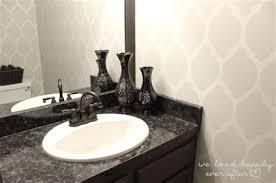 painting laminate bathroom countertop renewing laminate vanity countertops with a fresh coat of