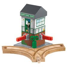 Fisher Price Wooden Railroad Maron Lights Sounds Signal Shed Fisher Price Thomas Friends Wooden Railway Maron Lights