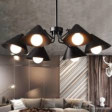 modern pendant lamps led light american work office pendant lights fixture home indoor loft dining room living room lighting hanging light grey pendant