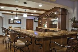 Image Of: Rustic Home Bar Designs Ideas