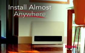 Gas Wall Heater Installation Rinnai Energysaverar Direct Vent Wall Furnaces Youtube