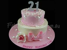 21th For Cakes Studio – Lovely Home Birthday Girl Cake - Design Male 21st Your