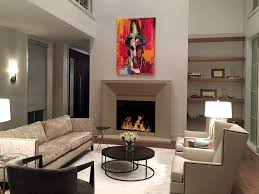 the clean lines give our newport cast stone fireplace a unique modern style which is