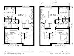 Plan Maison Deux Etages De A Etage Moderne Latest Modles