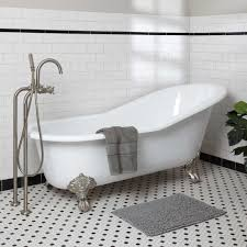 Everything You Need To Know About Clawfoot BathTubs ULTIMATE GUIDE - Clawfoot tub bathroom