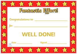 Certificates Printable End Of Term Award Certificates