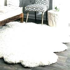 large faux fur rug faux sheepskin rug area white rugs fur large braided small cleaning fur large faux fur rug
