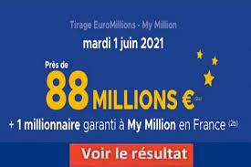 Le dernier résultat euromillion et tous les résultats de l'euromillions depuis sa création. Fxshax0u Huerm