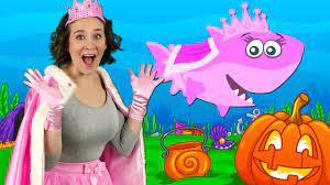Cá mập Halloween | Bài hát thiếu nhi và vần điệu trẻ | Bài hát Halloween từ  Bounce Patrol - Lovekid