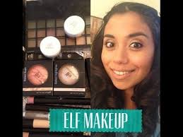 elf makeup tutorial she is talking in spanish but i was able to follow her