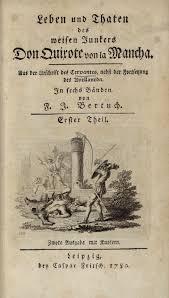 iconography of don quixote leben und thaten des weisen junkers don quixote von la mancha aus der urschrift des cervantes nebst der fortsetzung des avellaneda
