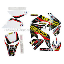 pit bike graphics motorcycle parts ebay