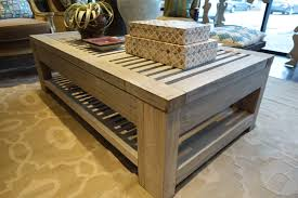 57 most perfect outdoor coffee tables slatted reclaimed aged teak table me gardens with drawers small