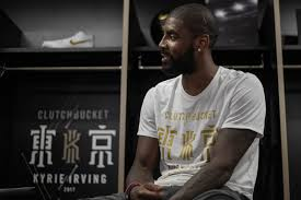 Kyrie Irving Nike Basketball Interview