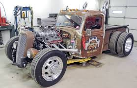 102 1935 ford rat rod truck cj bracken static hot rod network