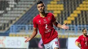 محمد شريف يحرز هدف التعادل للأهلي أمام المقاصة