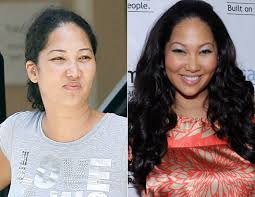 2 kimora lee simmons shows her true face ugly to pretty makeup does wonders transformation amazing