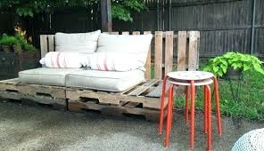 outside furniture made from pallets. Patio Furniture Made Out Of Pallets Pallet Fence Wood Outdoor From . Garden Sofa Instructions Outside