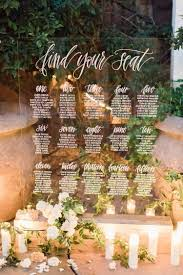 Wedding Seating Chart Acrylic Acrylic Wedding Seating Chart In 2019 Seating Chart