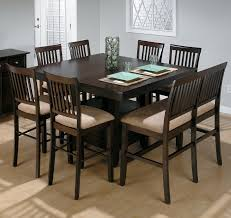 tall square dining table seats 8. high top dining room table good furniture net tall square seats 8 m