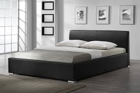 luxury bedroom leather black queen bed frame ideas abstract fl canvas painting wall decor bamboo flooring white wall painted