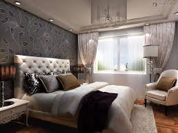 Modern Elegant Bedroom Upholstered Modern Creative White Upholstered Headboard Design