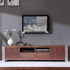 bmodern bmbrn composer  contemporary tv stand in light walnut