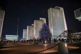 Empire State Plaza Christmas Tree Lighting Ogs Announces Opening Week Events For Winter At The Plaza