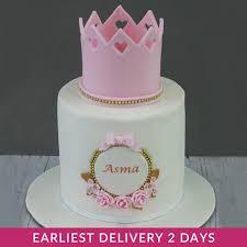 Princess Corwn Birthday Cake Buy Cakes In Dubai Uae Gifts