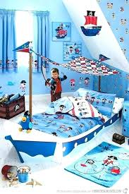 pirate bedding twin pirate bed set twin sheet comforter blue bedding for