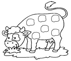Vache 7 Animaux Coloriages Imprimer Dessin De Vache A Imprimer Coloriage De Vache L