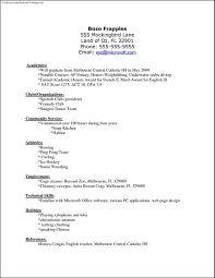 Libreoffice Resume Template 71 Images Libreoffice Template