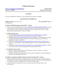 Self Employed Resume Samples Download Free Self Employment Resume