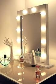 make up mirror lighting. Vanity Mirror With Lights Tabletop Makeup Light Up Table Make Lighting L