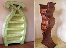 whimsical furniture made from recycled cardboard cardboard furniture for sale