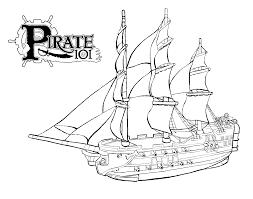 33 Dessins De Coloriage Bateau Pirate Imprimer Sur Laguerche Com