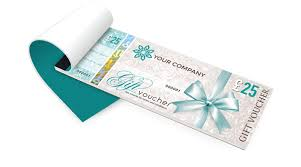 Personalised Gift Vouchers Templates Gift Voucher Printing Secure Personalised Gift Vouchers