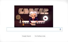 celebrates th anniversary of ludwig van beethoven s baptism google celebrates 245th anniversary of ludwig van beethoven s baptism