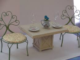 18 Inch Doll Kitchen Patio Table Chairs And Accessories For