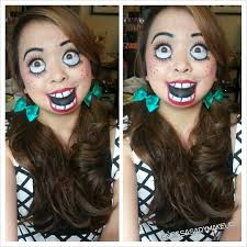 makeup ideas creepy doll i want to do this sterpin aguilar ledesma i know you would like this