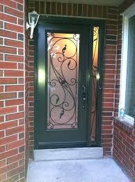 wrought iron glass doors design fiberglass wrought iron single frosted glass door with 2 iron arts wrought iron glass doors