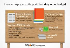 how to budget as a college student help your college student budget college budget parents